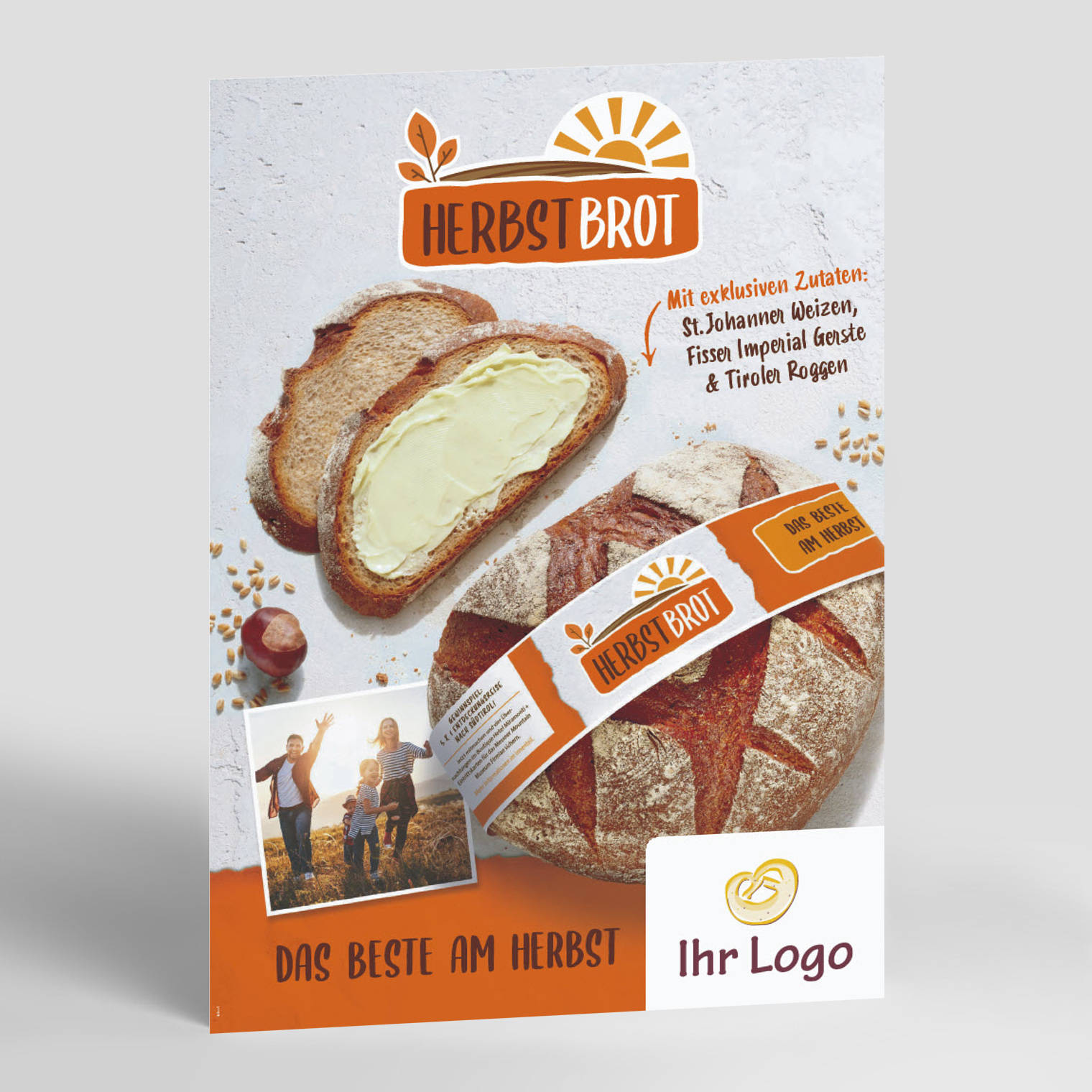 Poster A3 Herbstbrot